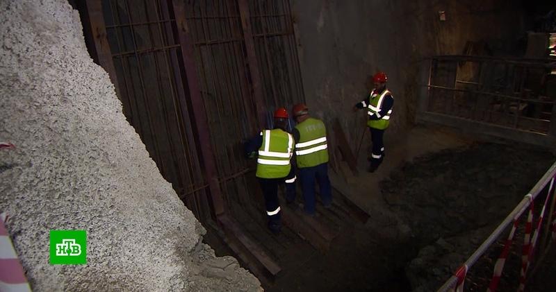 Завершена прокладка железнодорожного туннеля на подходах к Крымскому мосту