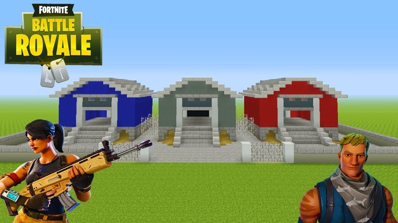 Minecraft: How To Make Dusty Depot Fortnite