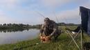 ОГРОМНЫЕ караси на бойла и кукурузу Рыбалка на карася Фидер Рыбалка карась