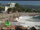 Крым / Бочки я ядовитыми веществами на дне Чёрного моря (RT 2012)