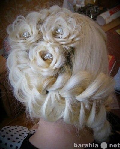 Картинки косы на средних волосах схема плетения - 54