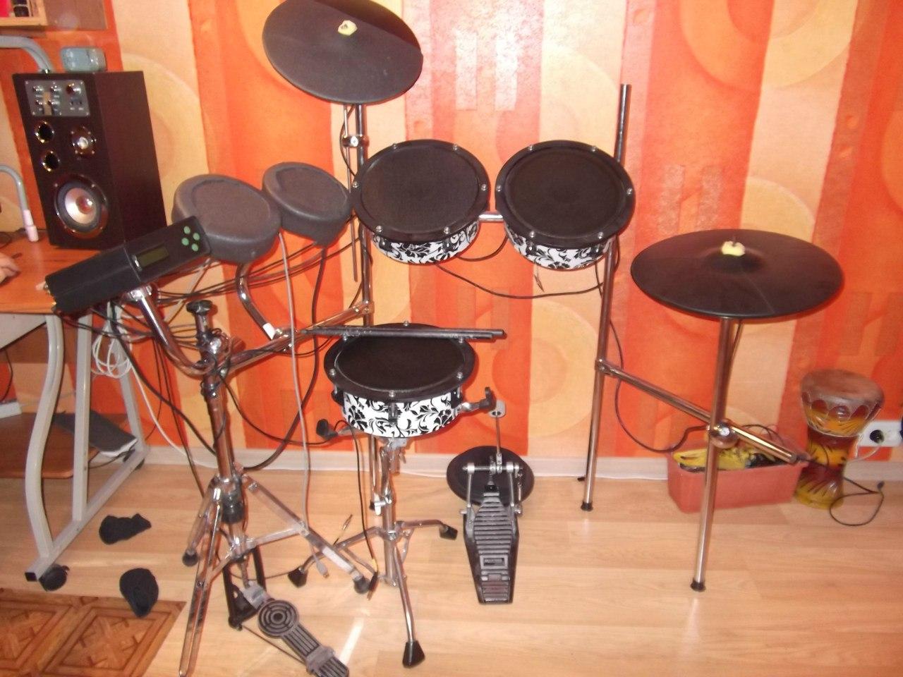 Как сделать свою барабанную установку 795