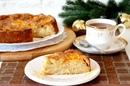 Яблочный пирог с мандаринами и карамельной корочкой