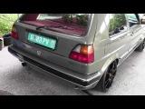 Turbo am See Ömer Golf 2 VR6 Turbo Hulk Sabotnig 2014