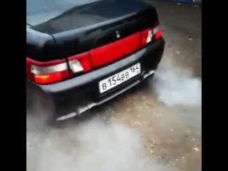 Дикий Выхлоп ВАЗ 2110