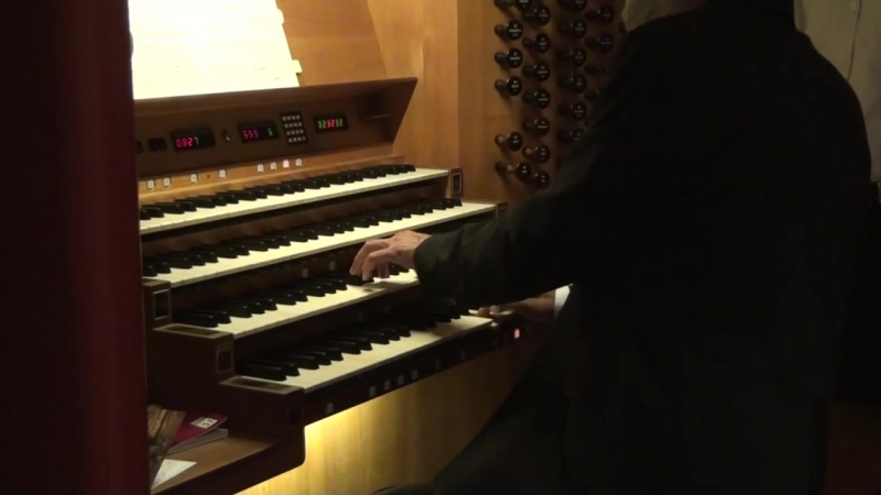 889 J. S. Bach - Prelude and Fugue in A minor, BWV 889 WTK II n. 20- Christoph Bossert, Würzburg