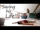 Saving my unconscious Husband Ranger Roll Vlog 107