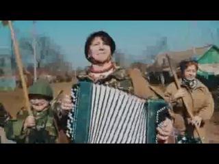 Украинские пенсионерки записали боевой клип про войну с москалями видео   Песня называется Давай_ ба