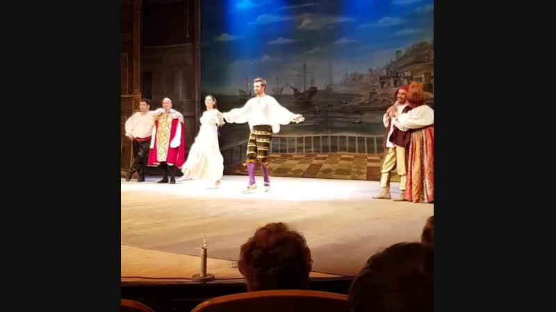 Спектакль 'Приворотное Зелье'. Поклоны.(4.11.18, Москва)