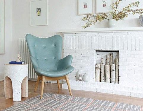 Необычное кресло в интерьере