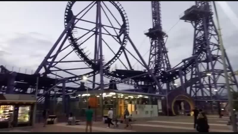 Аттракцион Квантовый скачок Сочи парк Сочи 2018