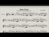 Baker Street - Ноты для саксофона Тенор (Electro House Mix)