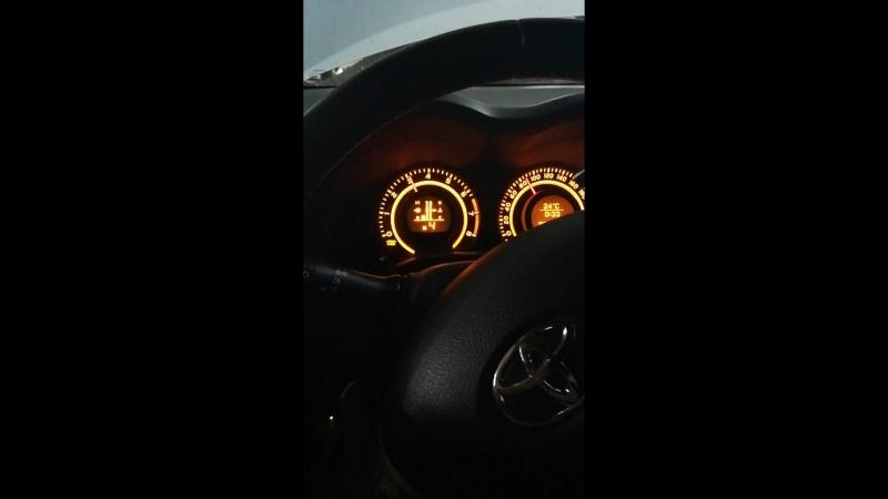 🇯🇵Toyota Corolla E150 на роботе🇯🇵 Проверка переключения передач. Режим M