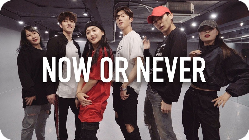 Now or Never(질렀어) - SF9 Yoojung Lee Choreography with SF9 영빈, 태양, 찬희
