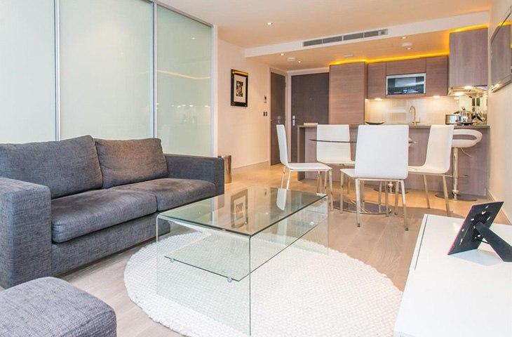 Квартира-студия 45 м в Лондоне / Великобритания - http://kvartirastudio.