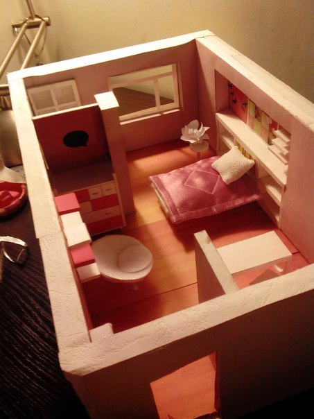 Комната виолетты фото
