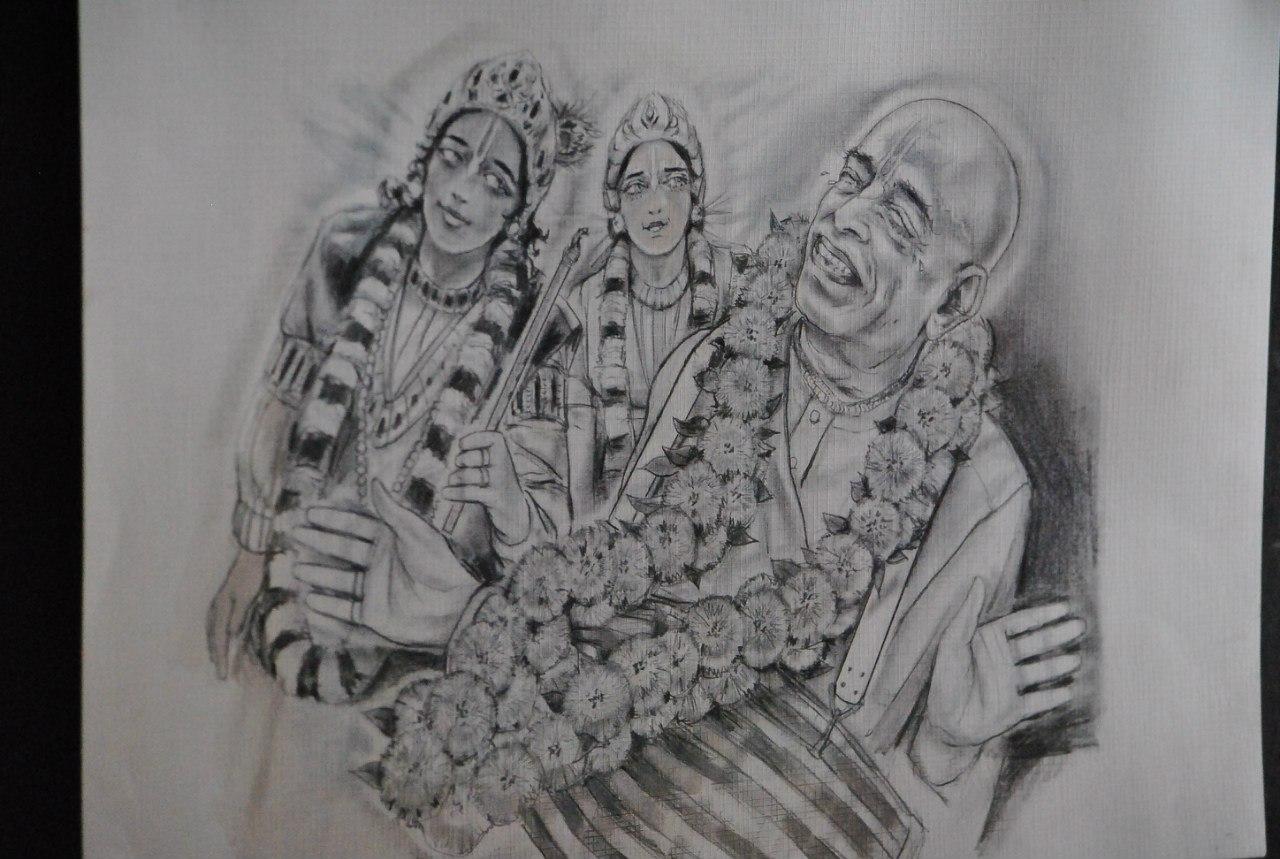 Лекция на празднике Ратха-йатры