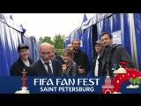 FIFA Fan Fest SPb Optimystica Orchestra уже сегодня!