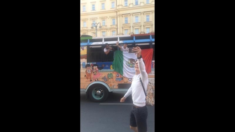 Мексиканский автобус с Мариванной