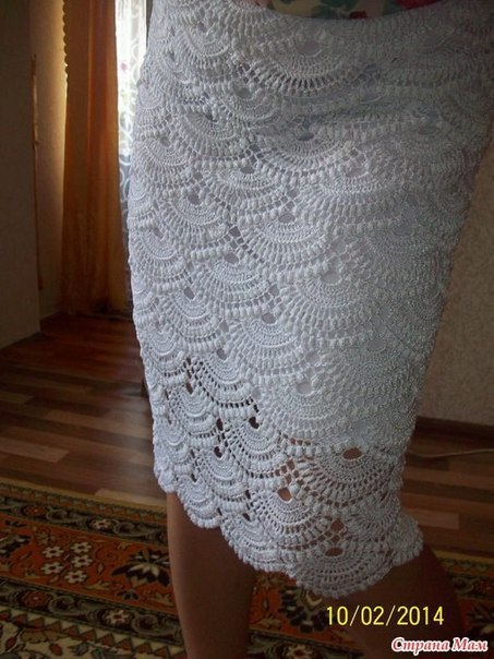 Юбка по мотивам Джованны Диас. (4 фото) - картинка