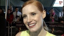 Jessica Chastain Interview Al Pacino Acting Godfather