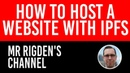 How to Host a Website with IPFS