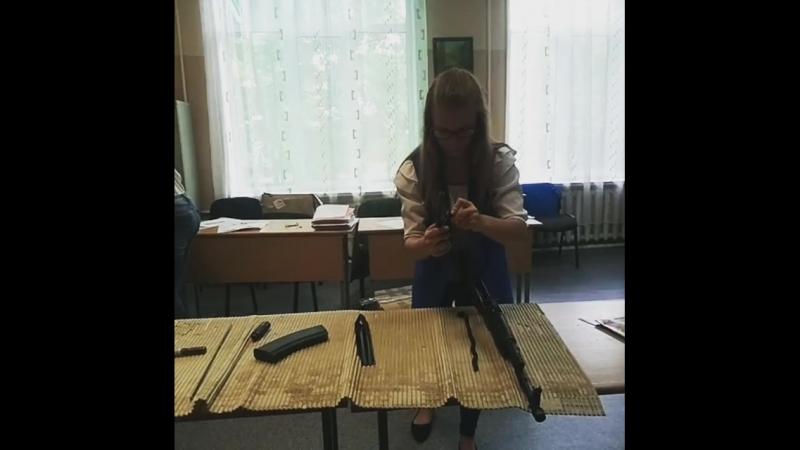 Разборка и сборка автомата Калашникова - 74