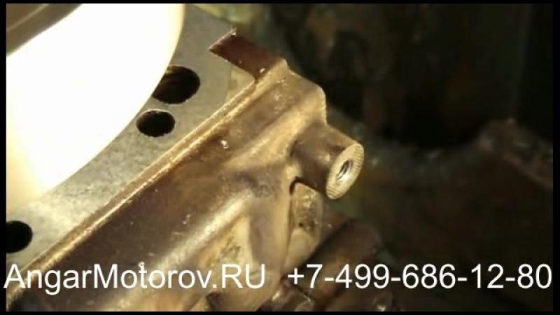 Ремонт Головки Блока (ГБЦ) Audi A3 2.0 TDI Шлифовка Опрессовка Сварка Восстановление постелей