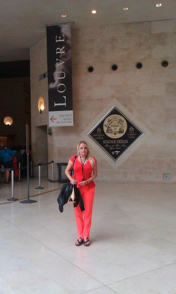 Елена Руденко. Франция. Париж. Музей Лувр. 2013 г. июнь. JFzbXU3_IXo
