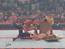 Dudley Boyz Vs La Resistance - World Tag Team Championships - 3 On 2 Handicap Tables Match - Unforgiven 2003