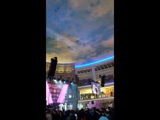 ТЦ Вегас концерт