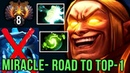 Miracle- Invoker Road to TOP-1 RANK with NEW META Build, Mjollnir Refresher Orb - EPIC Dota 2