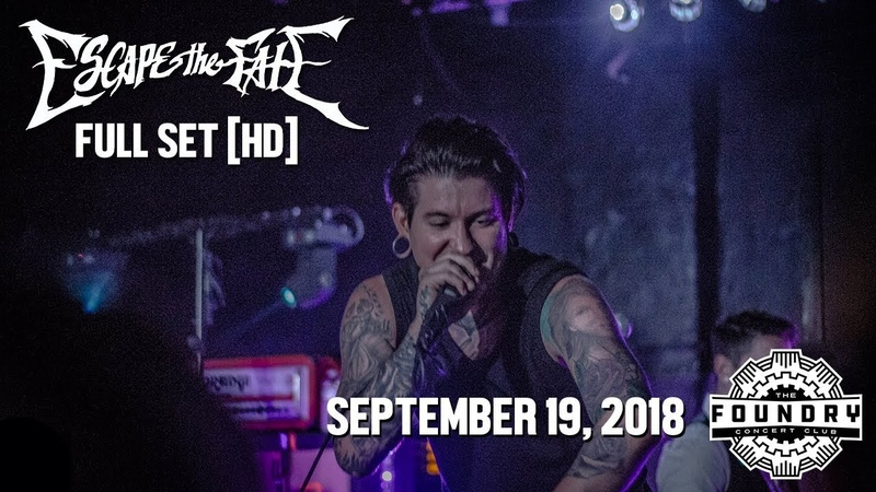 Escape The Fate - Full Set HD - Live at The Foundry Concert Club