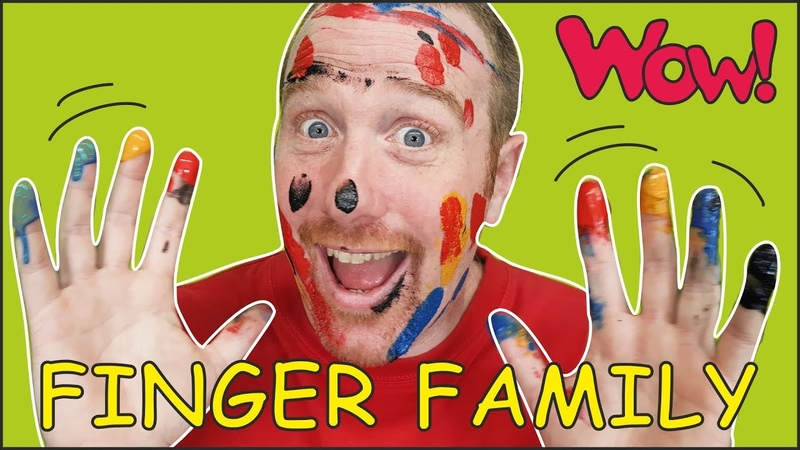 Animal Finger Family from Steve and Maggie Magic Speaking Learning Wow English TV