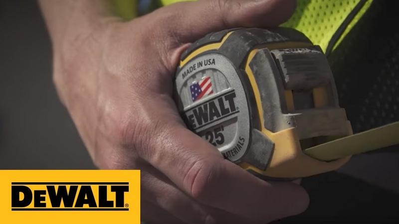 DEWALT® 25ft XP™ Tape Measure Engineered Tough (DWHT36225S)