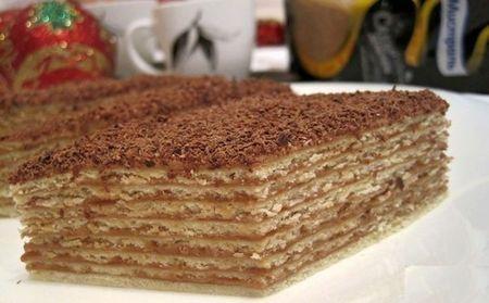 микадо торт с фото