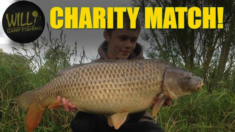 Carp Fishing for Jamie Mines - Charity Match 2017