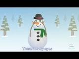 I'm Little Snowman with lyrics English learning for kids