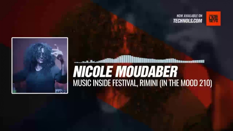 Techno music with @NicoleMoudaber - Music Inside Festival, Rimini (In The MOOD 210) Periscope