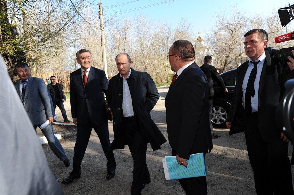 Путин в Элисте