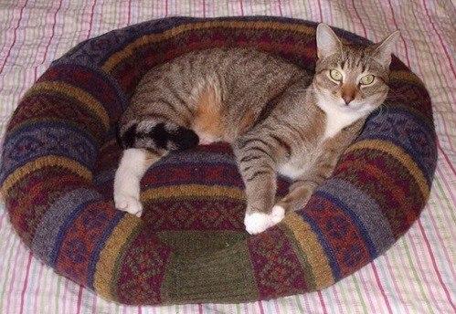 Кроватка для кошки из