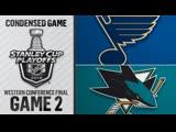 St. Louis Blues vs San Jose Sharks WCF, Gm2 may 13, 2019 HIGHLIGHTS HD