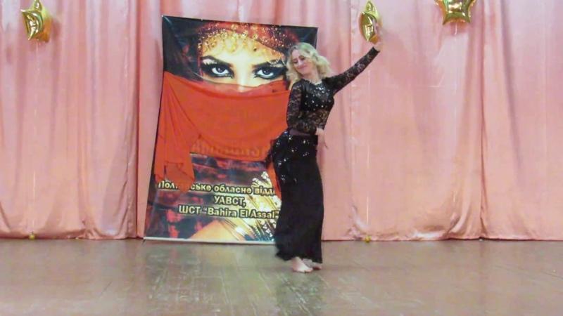 ШВТ Bahira El Assal Мария Евтухова Iraqi dance. Отчётный концерт 2018