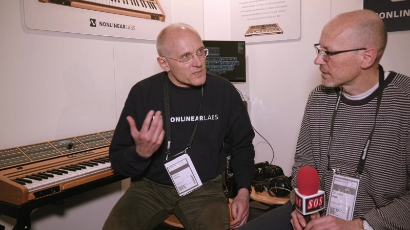 Nonlinear Labs C15 - Musikmesse 2018