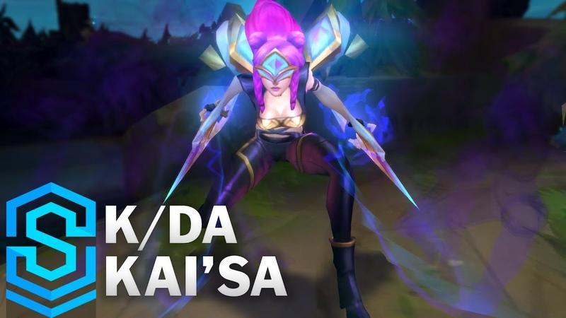 KDA KaiSa Skin Spotlight - Pre-Release - League of Legends