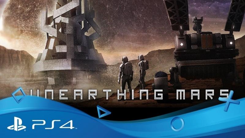 PSVR Unearthing Mars 2 - VR GAMECLUB Хабаровск