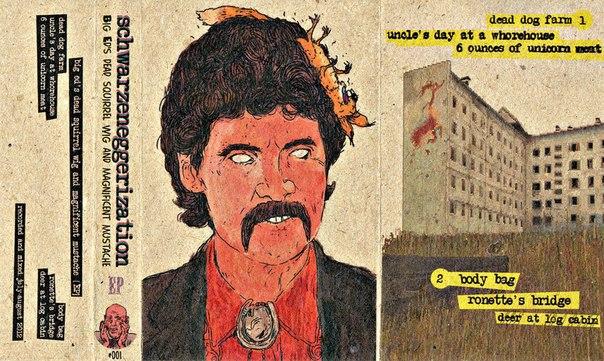 schwarzeneggerization — big ed's dead squirrel wig and magnificent mustache [EP]