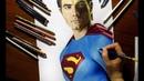 Speed Drawing Superman Brandon Routh Jasmina Susak