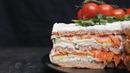 Закусочный сэндвич-торт