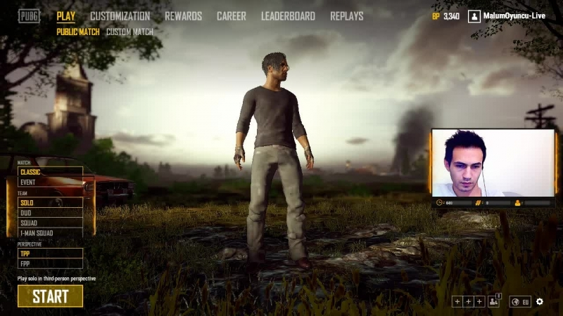 SOLO PUBG EKİPLE CS themalums